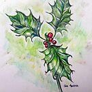 Ilex aquifolium by Gea Austen