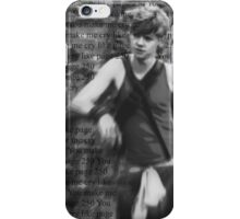 You make me cry like page 250 iPhone Case/Skin