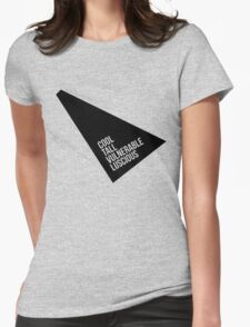 Perfect World Tee (Soft Butch Version) Womens Fitted T-Shirt