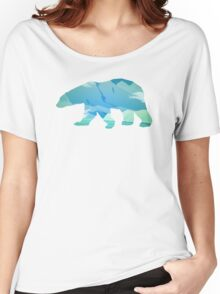 Colorful Polar Bear Women's Relaxed Fit T-Shirt