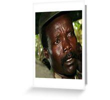 Kony Greeting Card