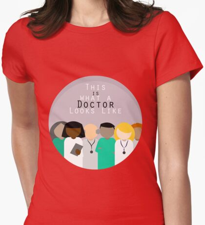 This is What a Doctor Looks Like Womens Fitted T-Shirt