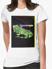 The Iguana Womens Fitted T-Shirt