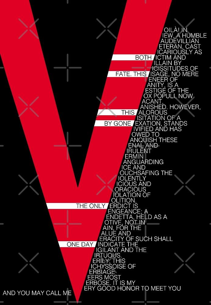 V for Vendetta Speech by tinster4x4