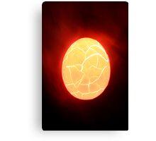 broken egg Canvas Print