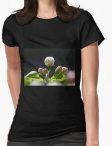 Apple Blossom 2 Womens Fitted T-Shirt