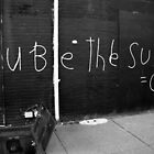 You be the Sun by Heidelberger Photography
