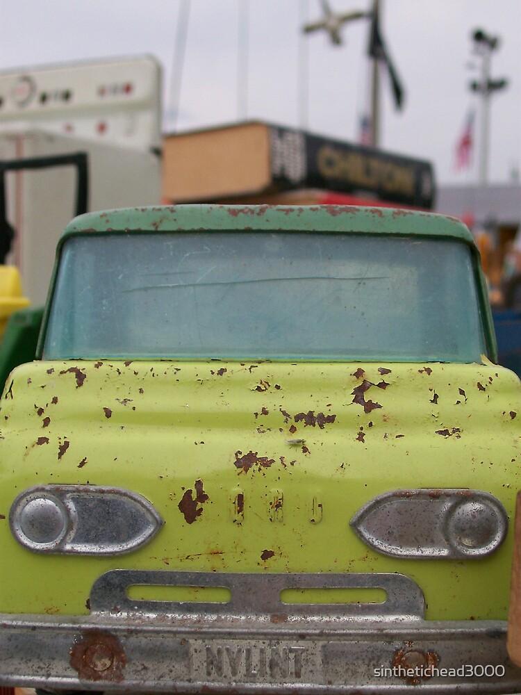 Little Green Truck by sinthetichead3000
