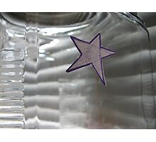 Wish Jar Star Photographic Print