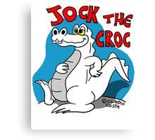 Rick the chick - Jock the croc Canvas Print
