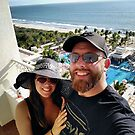 My granddaughter, Crissie and grandson-in-law, Chris in Mexico by Shulie1