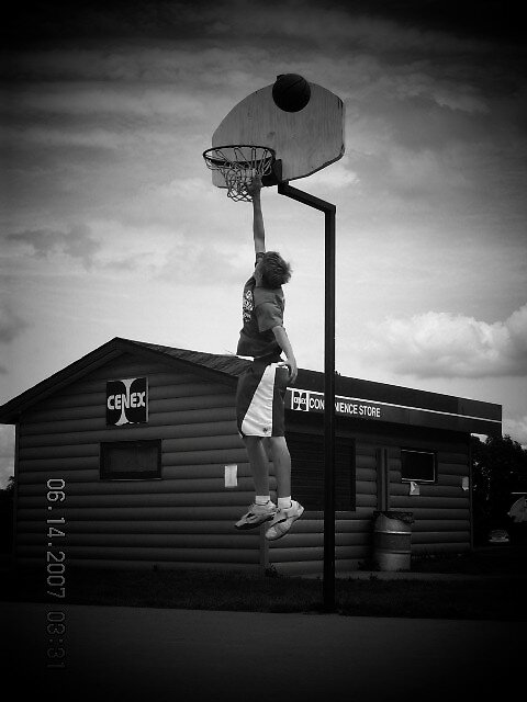 Basketball by Jaclyn Clemens