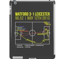 Troy Deeney Goal: Watford 3-1 Leicester 2013 iPad Case/Skin