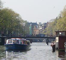 Amsterdam standing still by john leightley
