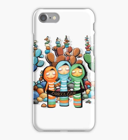 Peace and Love Garden iPhone Case/Skin