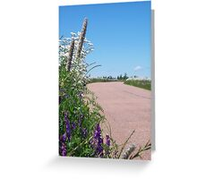 On the Road... Greeting Card