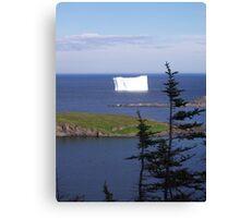 '' Iceberg Country '' Canvas Print
