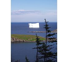 '' Iceberg Country '' Photographic Print