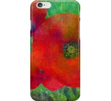 The Only Poppies iPhone Case/Skin