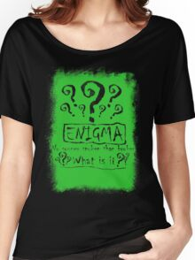 the quest of the riddler Women's Relaxed Fit T-Shirt