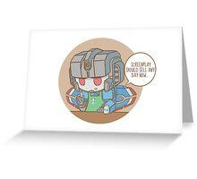 SCREEN.WRITER Greeting Card