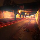 Under the Bridge Downtown by Heidelberger Photography