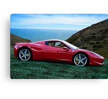 2014 Ferrari 458 Spyder Canvas Print
