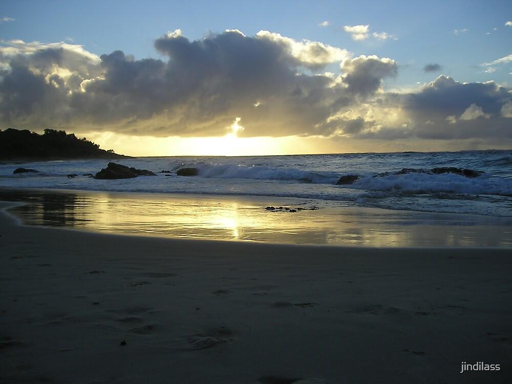 sunset  Brisbane by jindilass