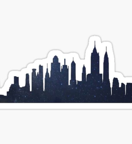 NYC STARS  Sticker