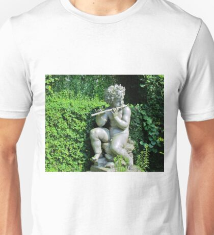 Wood Nymph With Flute Unisex T-Shirt