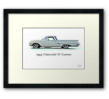 1960 Chevrolet El Camino 'Studio' Framed Print