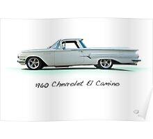 1960 Chevrolet El Camino 'Studio' Poster