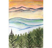 Blue Ridge Landscape Mountain Fine Art Print Photographic Print