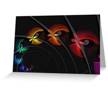 Into the Blackhole With You Greeting Card