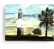 Tybee Island, GA Lighthouse Canvas Print