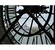 View From a Clocktower  Photographic Print