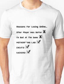 Online Gaming  T-Shirt