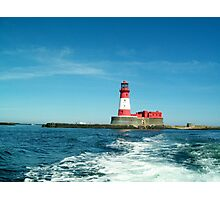 Longstone Lighthouse, Farne Islands, Northumberland Photographic Print