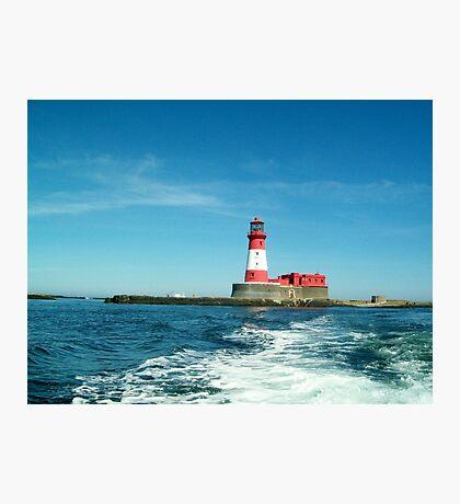 Longstone Lighthouse, Farne Islands, Northumberland Photographic Print
