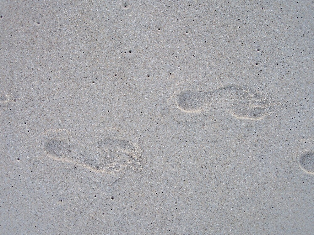 Footprints by Wendy