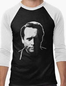 The Prisoner - Number Six - Patrick McGoohan Men's Baseball ¾ T-Shirt