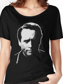 The Prisoner - Number Six - Patrick McGoohan Women's Relaxed Fit T-Shirt