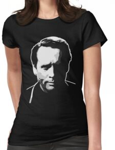 The Prisoner - Number Six - Patrick McGoohan Womens Fitted T-Shirt
