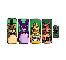 Five Nights At Freddy's Battery by OrillanidaArt
