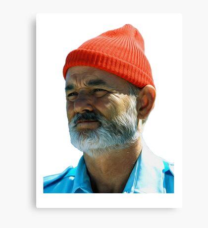 Steve Zissou - Bill Murray  Canvas Print