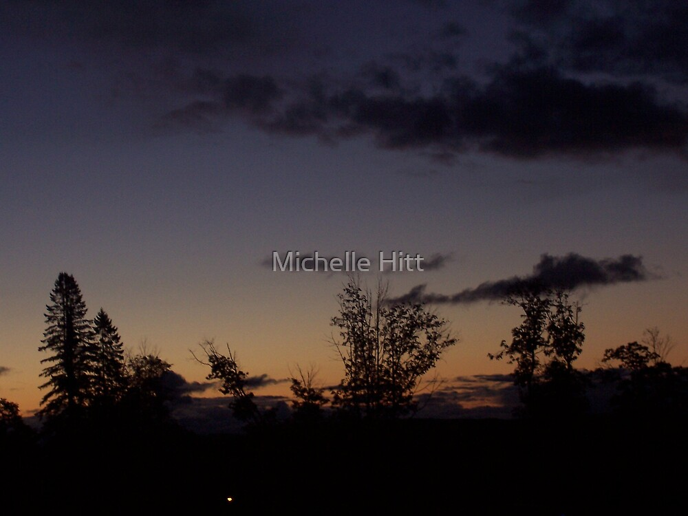 Early Morning Silhouette by Michelle Hitt