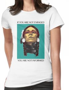 Standing Rock Womens Fitted T-Shirt