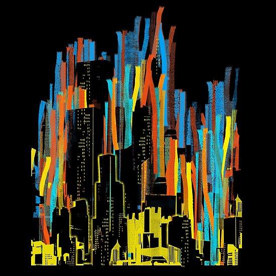 strippy city by frederic levy-hadida
