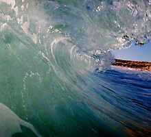 Beach, Wave, Sky. by glendram
