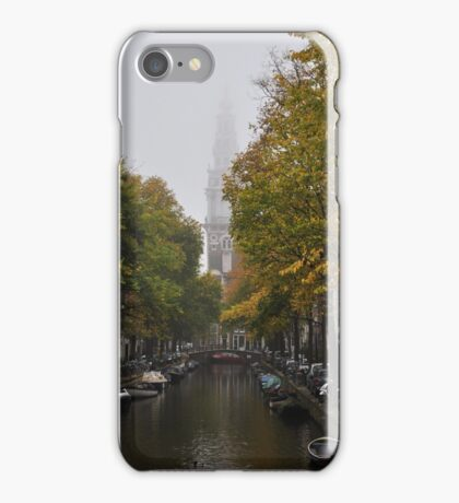Zuiderkerk on a foggy day iPhone Case/Skin
